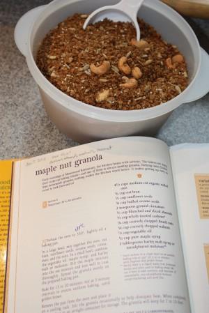 Granola & recipe.