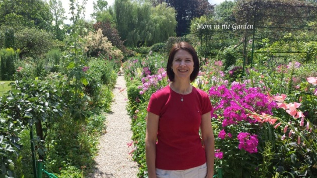Dana visiting Monet's Garden in Giverny July 2015