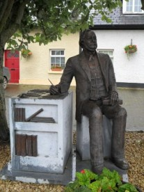 Vere Foster: A man of great wealth, who put the well being of others first. After he discovered that Irish emigrants were having a tough time due to lack of education, he sought to rectify this. Through his efforts, a much higher standard of education was brought about in Ireland. His statue is here due to his ties to Tallanstown.