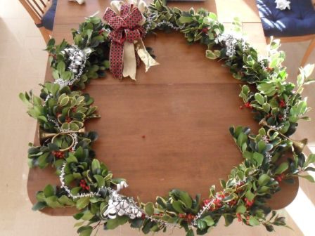 Christmas wreath 2011.