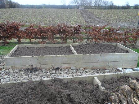 Neat and tidy! Ready for the next planting season!