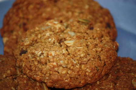 Granola Cookies (Martha Stewart's Breakfast Cookies).