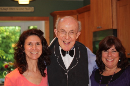 Two very special people in my life!  At 92 Monsignor still has a wonderful sense of humor, and incredible words of wisdom.