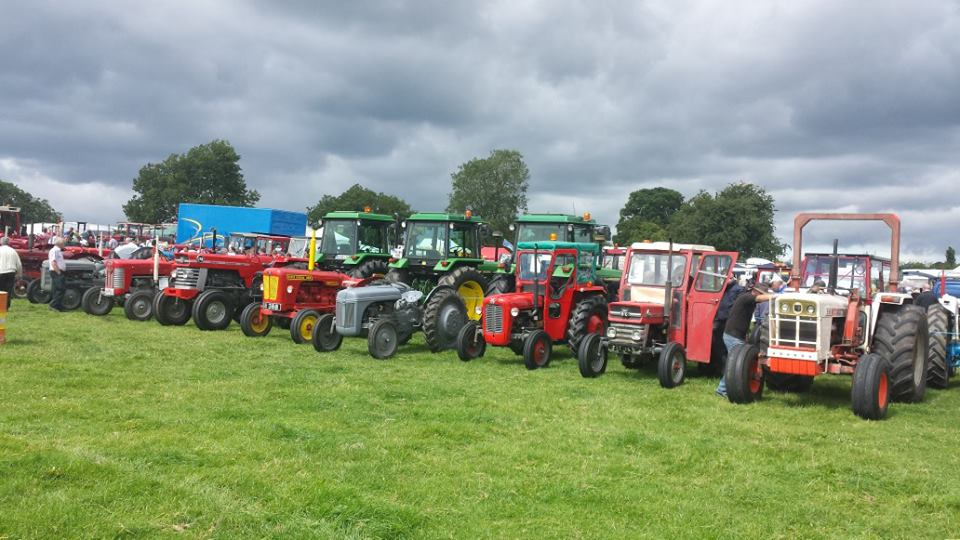 Tractors through the ages!
