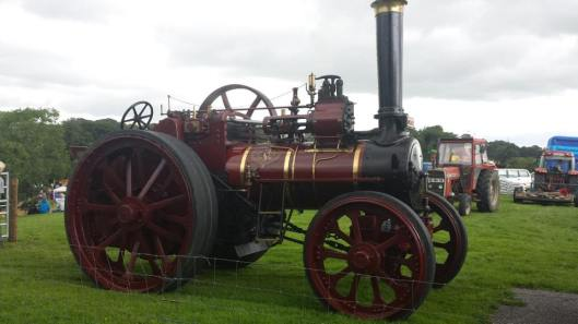 One of the many steam engines.