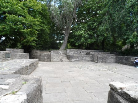 Hidden away behind trees is this area that is used for drama productions (or so I've been told!).