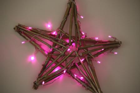 A handmade star