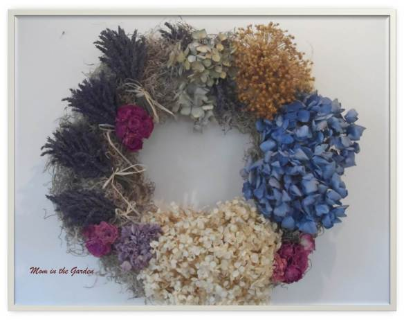Flowers from the garden Wreath