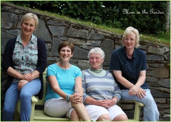 These wonderful ladies are mentoring me in my gardening adventures!