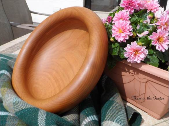 Spanish Chestnut wooden bowl