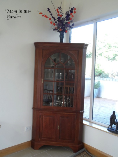 Our Stickley corner piece.  A perfect display place.