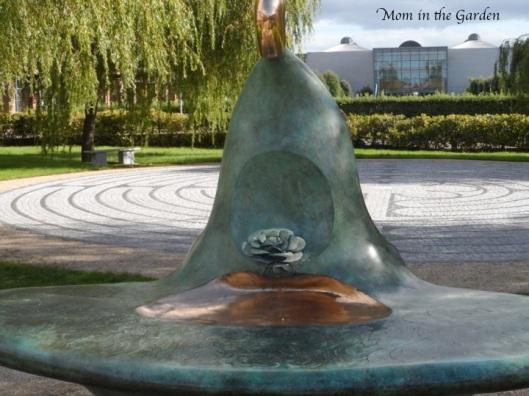 Rose Bowl sculpture