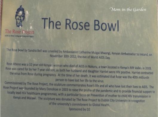 Rose Bowl sign