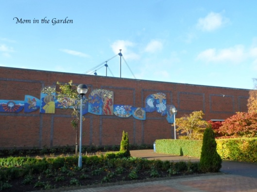 Mosaic at Dublin City University