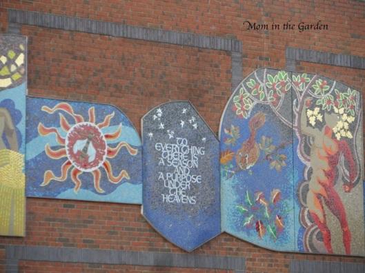 Mosaic at Dublin City Universtiy
