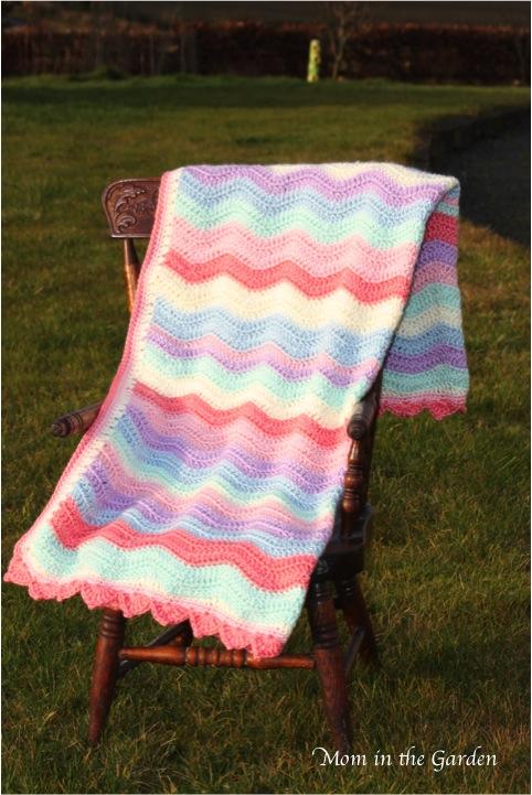 Completed blanket