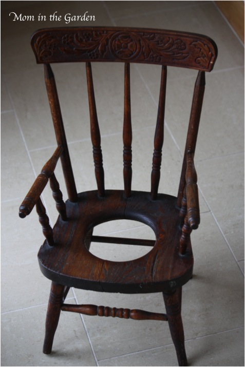 Antique Potty Chair