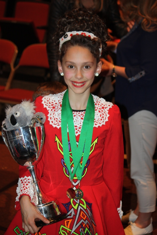 Her teams also did fantastic, one of them placing first!