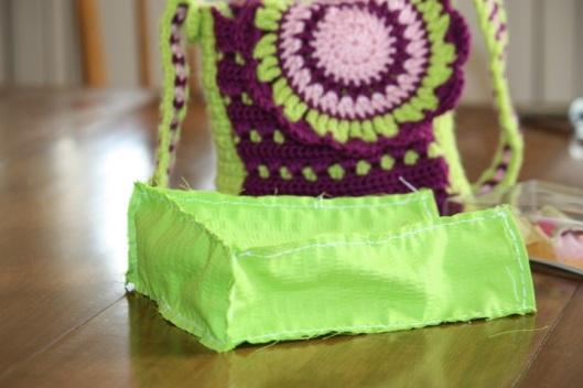 hand sewn...
