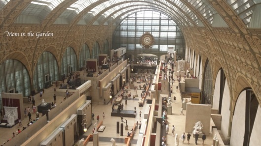 Here's a look inside of the musee d'orsay
