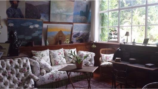 inside of Monet's house
