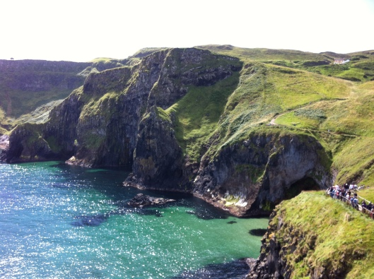 Views around Carrick-a-Rede rope bridge