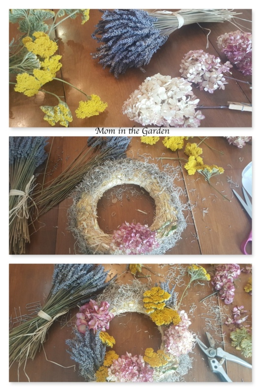 Garden Wreath collage updated
