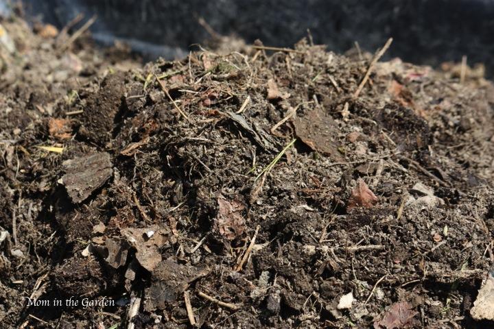 dark compost