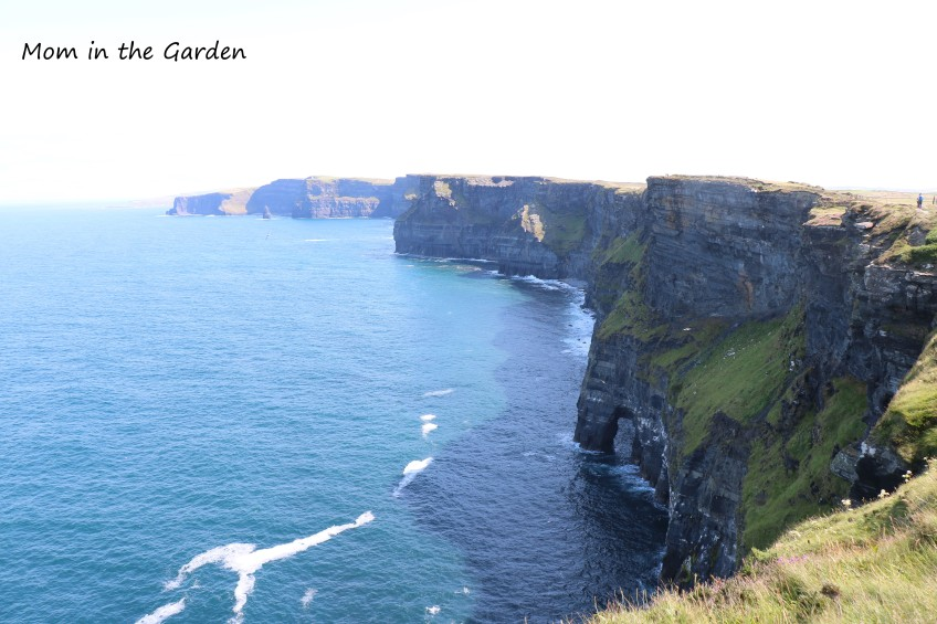 full view of cliffs with archway