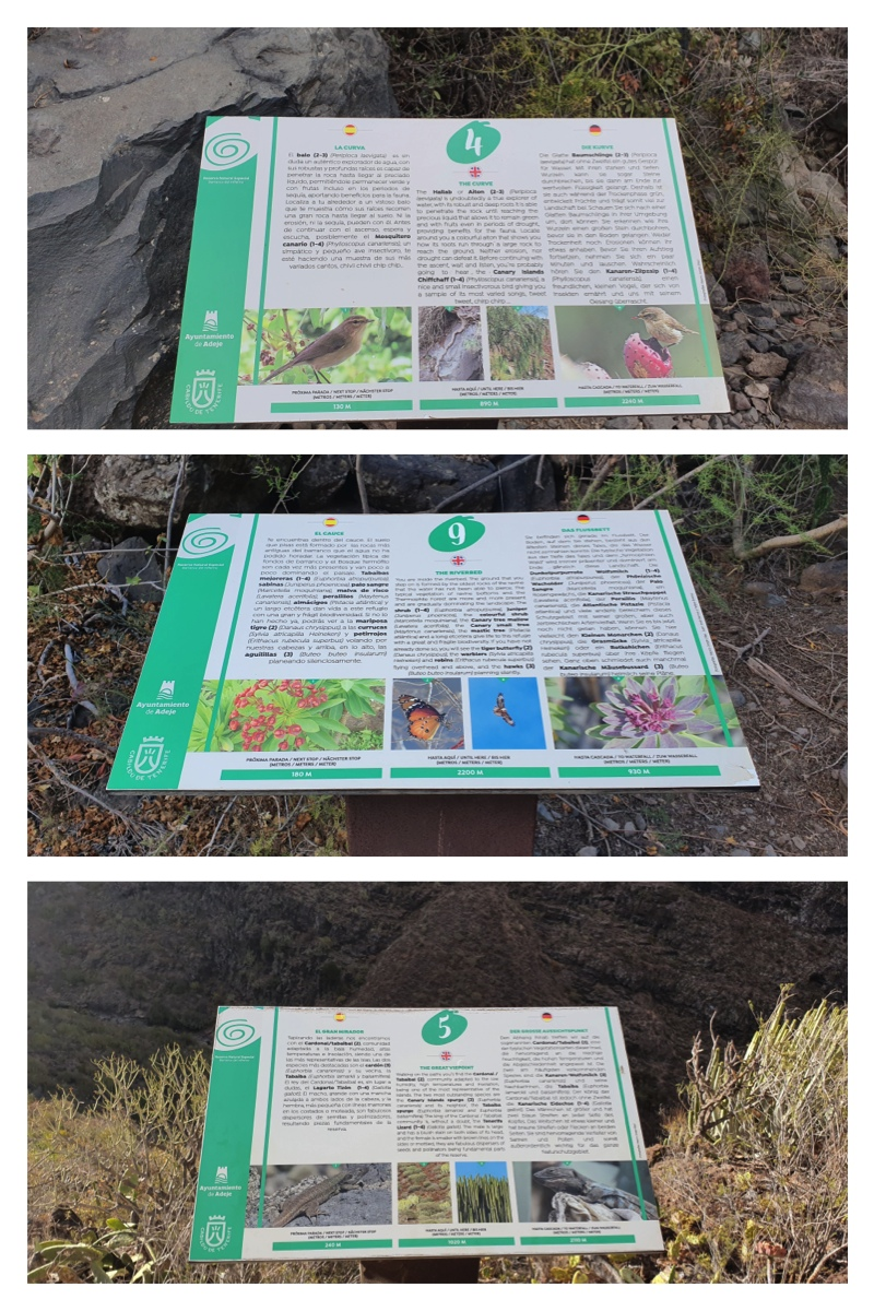 Barranco del Infierno points of interest
