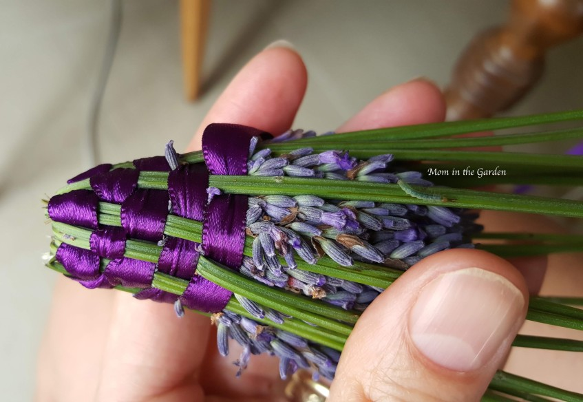 Lavender wand with inch worm