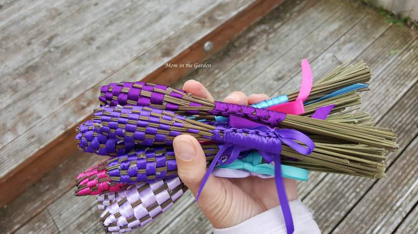 Lavender wands end of August