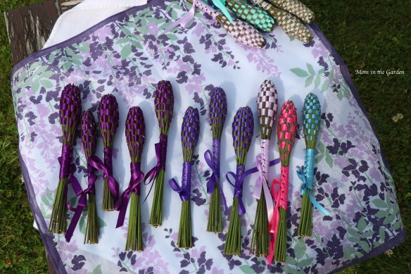 group of lavender wands