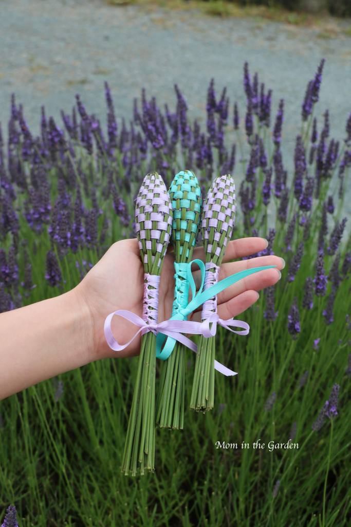 Lavender wands completed