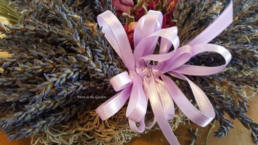 Lavender Wreath bow