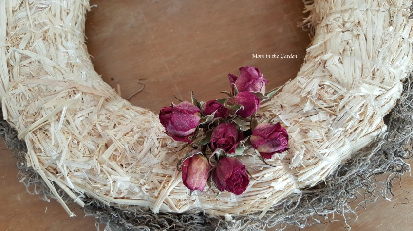 Lavender Wreath starting with roses