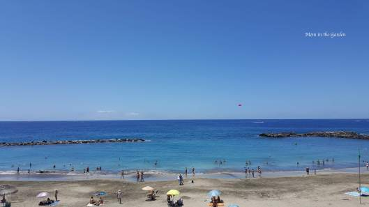 Playa del Duque beach on Costa Adeje in southern Tenerife