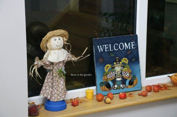 Mrs Hop's Scarecrow