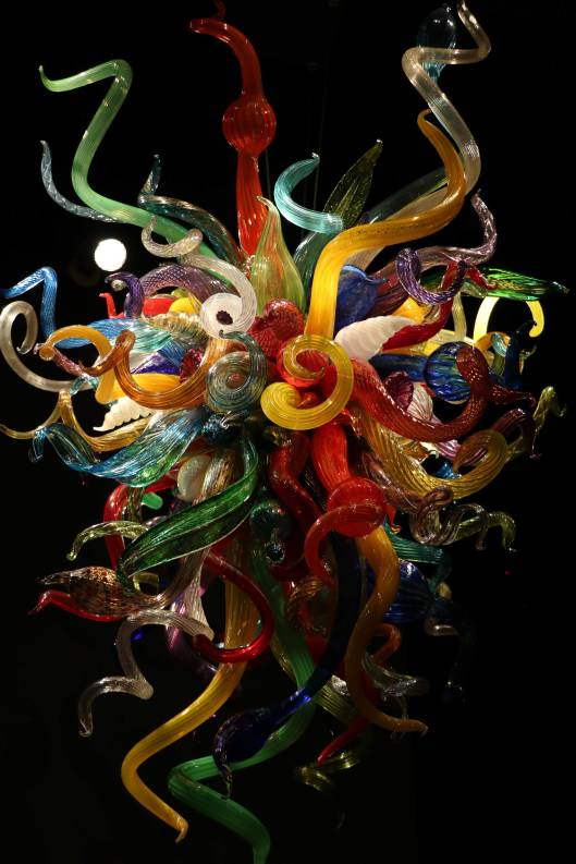 (close up) Carnival Chandelier, 2008, Dale Chihuly Collection