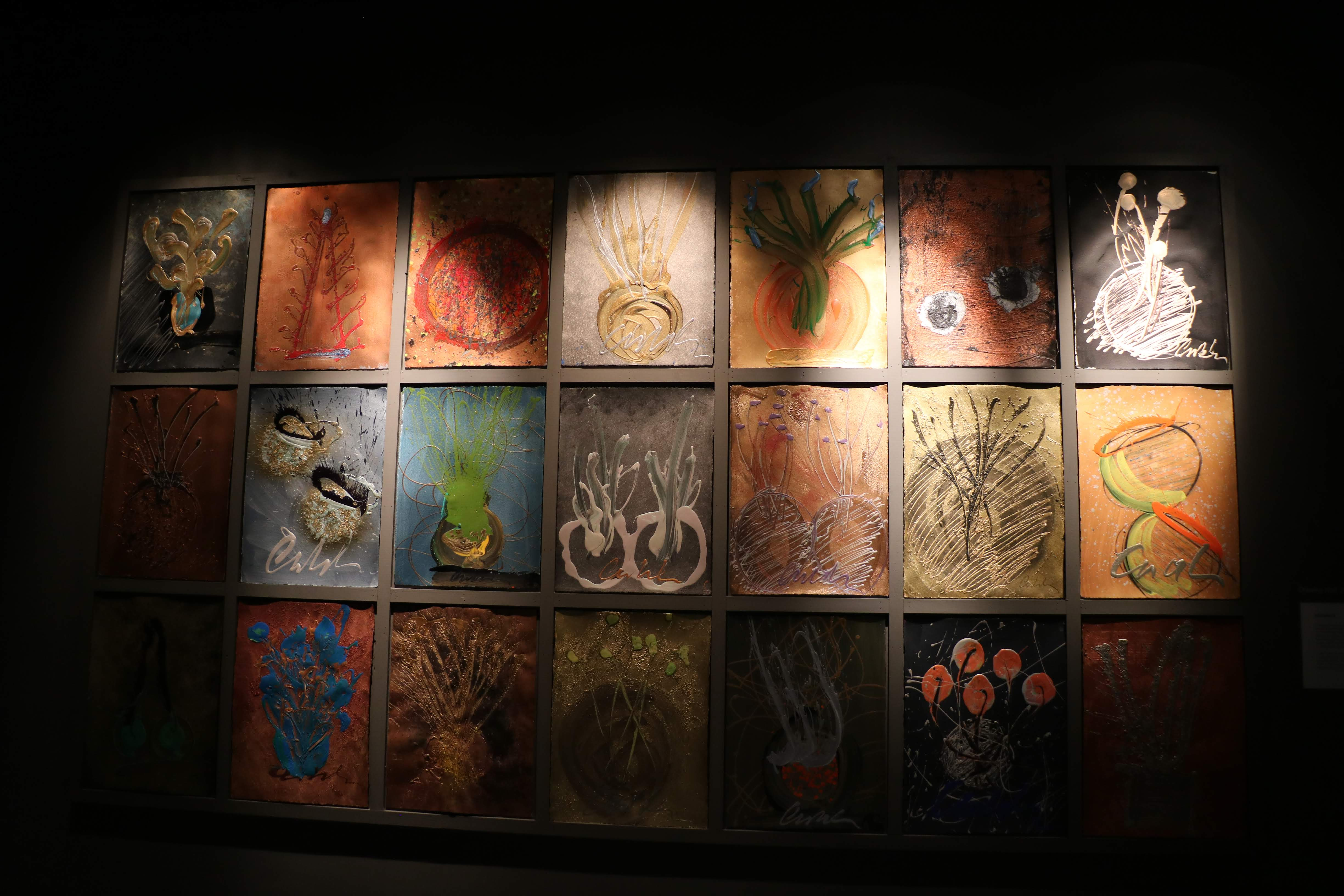 Dale Chihuly's drawings