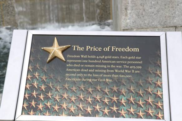 The Price of Freedom - description of memorial