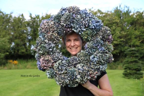 Dana + Hydrangea wreath