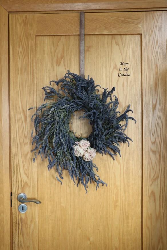 Dried FRESH lavender wreath September 2020
