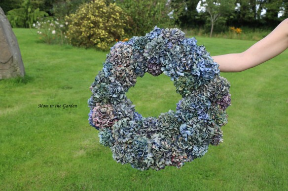Hydrangea Wreath full view