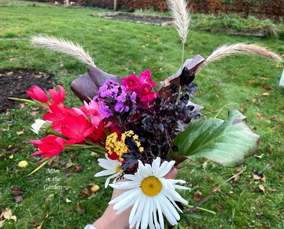 Flowers from the Garden in hand November 14
