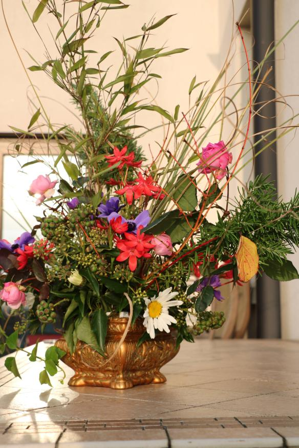 November flower arrangement