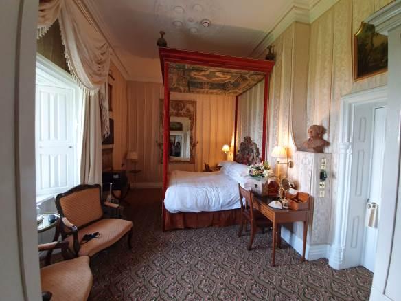bedroom at Ashford castle
