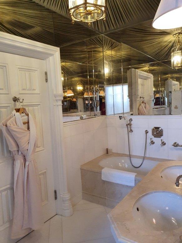 bathroom at Ashford Castle