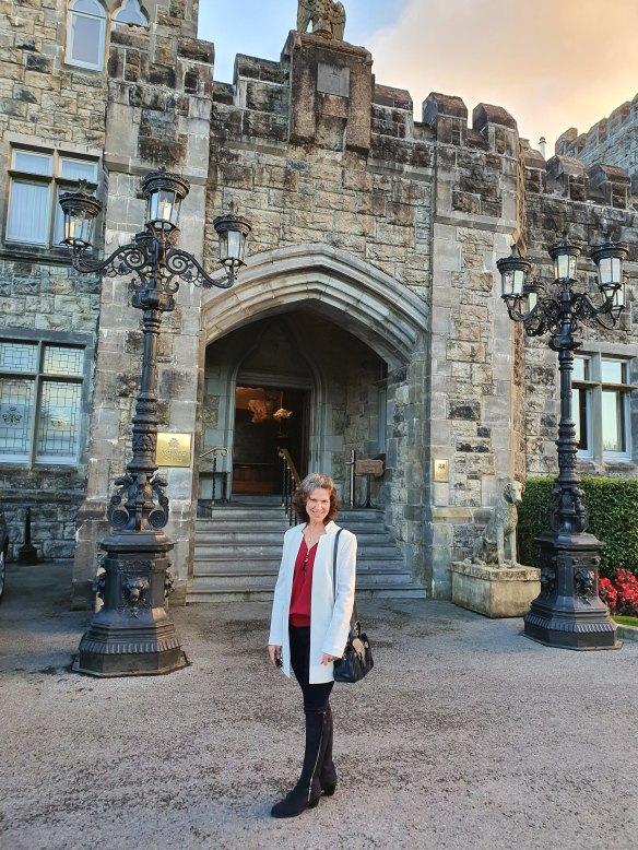 front entrance of Ashford castle