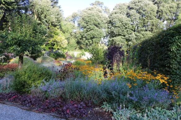 garden view at Ashford castle